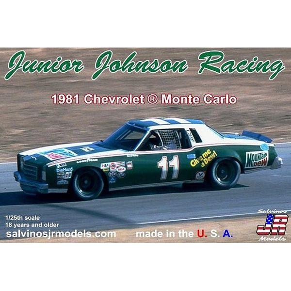 【8月予約】サルビノス J・R モデル 1/25 NASCAR '81 シボレー モンテカルロ ダレル・ワルトリップ J・Jレーシング スケールモデル SJMJJMC1981R