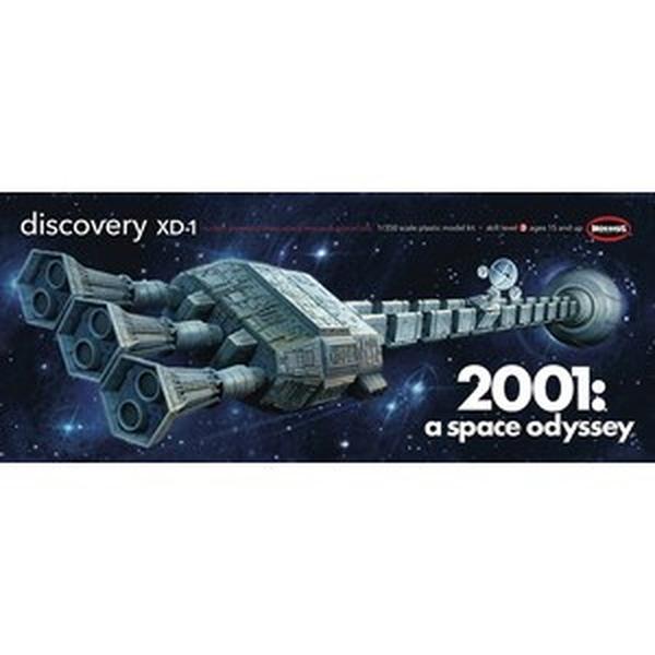 メビウスモデル 1/350 ディスカバリー号 XD-1 「2001年宇宙の旅」より キャラクタープラモデル MOE2001-8