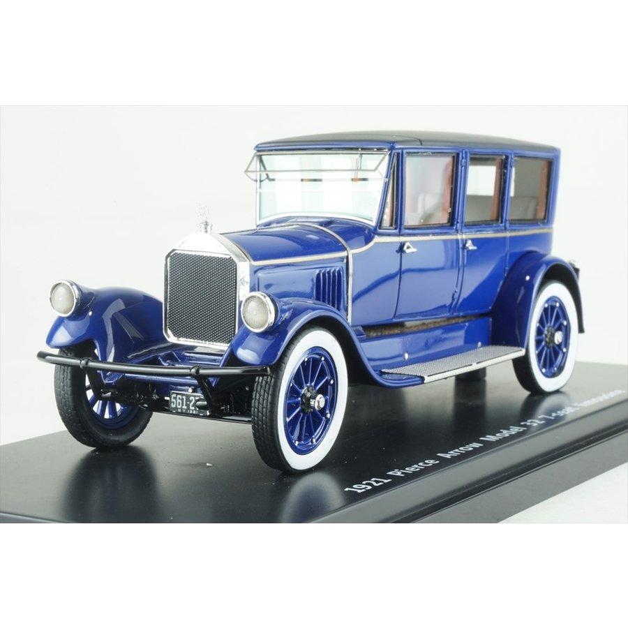 エスバルモデル 1/43 ピアスアロー モデル32 7シートリムジン 1920 ブルー 完成品ミニカー EMUS43043B