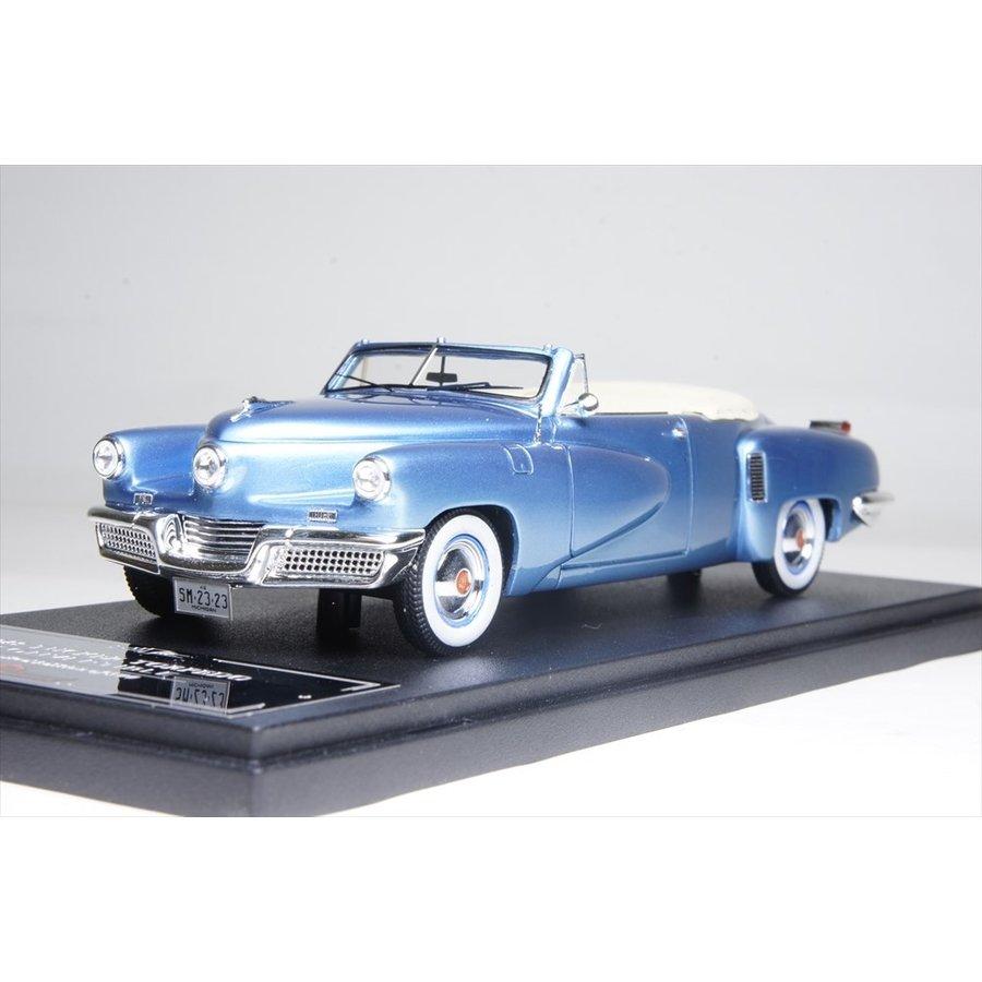 エスバルモデル 1/43 タッカー トーピード コンバチ トップダウン 1948 完成品ミニカー EMUS43056A
