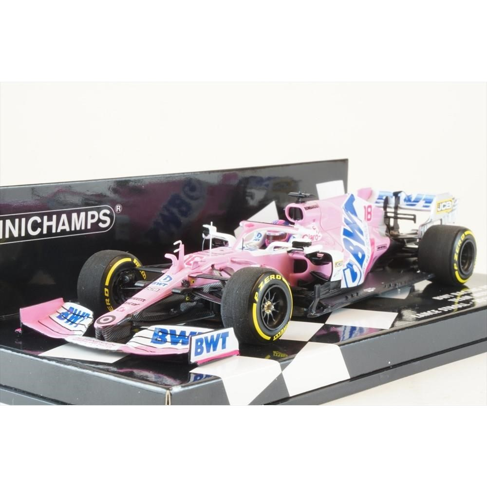 ミニチャンプス 1/43 BWT レーシング ポイント F1 チーム メルセデス RP20 ローンチ・スペック 2020 F1 L.ストロール 完成品ミニカー 417200018