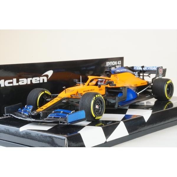 ミニチャンプス 1/43 マクラーレン ルノー MCL35 ローンチ・スペック 2020 F1 C.サインツJr. 完成品ミニカー 537204355