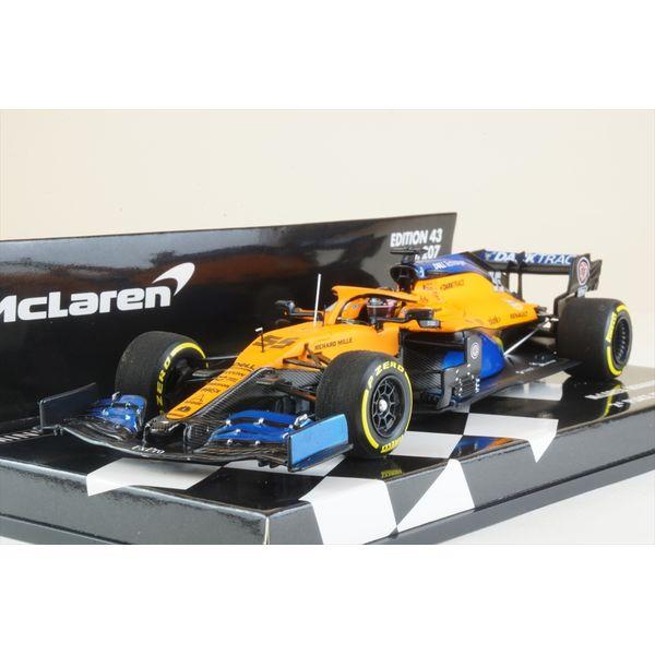 ミニチャンプス 1/43 マクラーレン ルノー MCL35 No.55 2020 F1 イタリアGP 2位 C.サインツJr. 完成品ミニカー 537205155