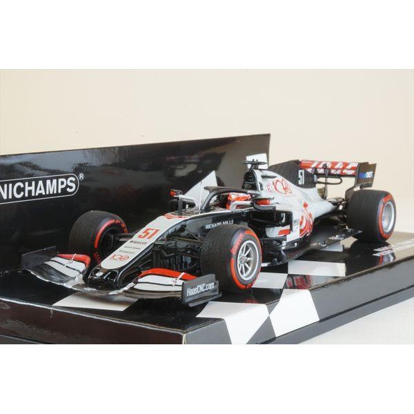 ミニチャンプス 1/43 ハース F1チーム VF-20 No.51 2020 アブダビGP P.フィッティパルディ 完成品ミニカー 417201751