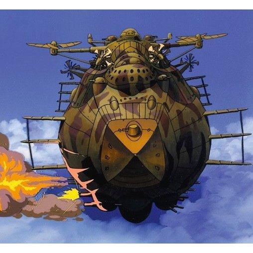 ファインモールド 飛行戦艦 ゴリアテ 「天空の城ラピュタ」より キャラクタープラモデル FG9
