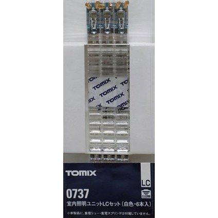 トミックス Nゲージ 室内照明ユニットLCセット(白色LED・6本入り) 鉄道模型パーツ 737
