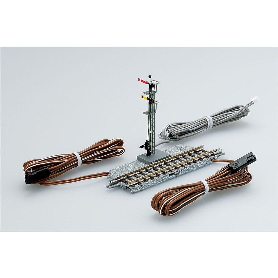 トミックス Nゲージ 腕木式場内・通過信号機(F) 鉄道模型パーツ 5542