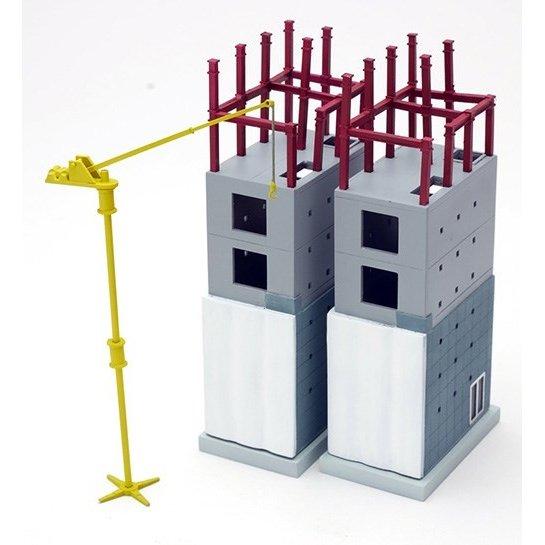 トミーテック Nゲージ 建物コレクション 167 建築中の建物D 鉄道模型パーツ 301967