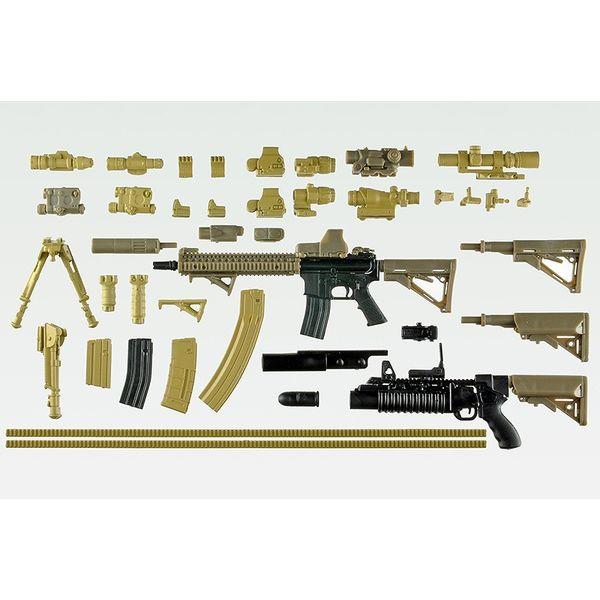 【12月予約】トミーテック M4A1朝戸未世ミッションパック 「リトルアーモリー」より フィギュア LS05