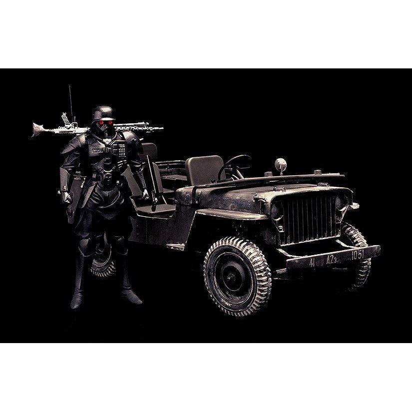 マックスファクトリー 1/20 PLAMAX MF-35 minimum factory プロテクトギア with 特捜班小型警邏車 「赤い眼鏡」より キャラクタープラモデル 4545784010914