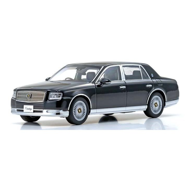 京商 1/43 トヨタ センチュリー 神威/エターナルブラック 完成品ミニカー KS03694BK