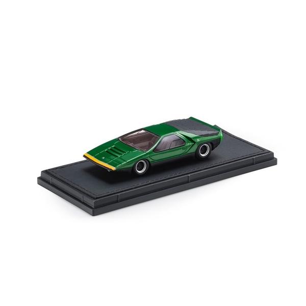 トップマルケス 1/43 アルファロメオ カラーボ 1968 グリーン 完成品ミニカー TOP43013A