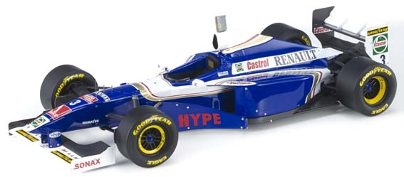 【6月予約】トップマルケス 1/18 ウィリアムズ FW19 No.3 F1 J.ビルヌーブ 完成品ミニカー GRP049A