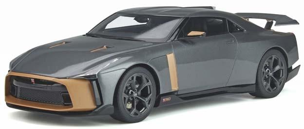 【5月予約】GTスピリット 1/18 ニッサン GT-R 50 by イタルデザイン グレー 完成品ミニカー GTS300