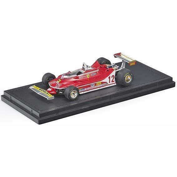 【7月予約】トップマルケス 1/43 GP REPLICAS フェラーリ 312 T4 No.12 F1 G.ビルヌーブ 完成品ミニカー GRP43012E