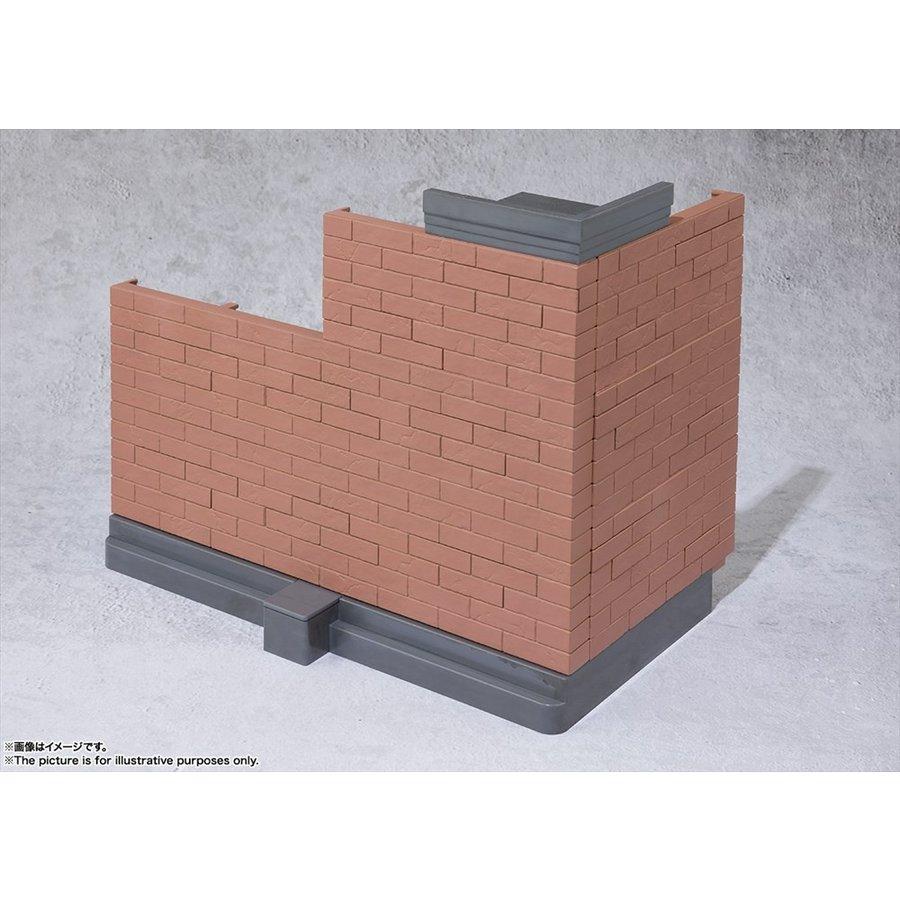バンダイ 魂OPTION Brick Wall ブラウンVer. フィギュア 4573102555595