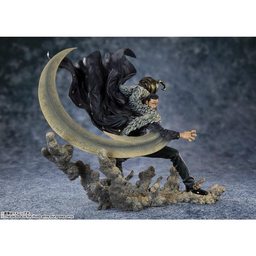 バンダイ フィギュアーツZERO[EXTRA BATTLE ]サー・クロコダイル -頂上決戦- 「ワンピース」より フィギュア 4573102591852