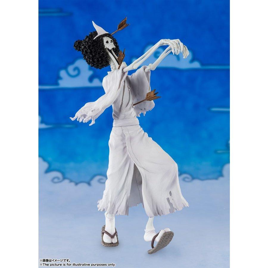 バンダイ フィギュアーツZERO ブルック(ホネ吉) 「ワンピース」より フィギュア 4573102608413