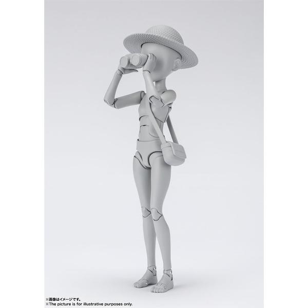 【12月予約】バンダイ S.H.Figuarts ボディちゃん -杉森建- Edition DX SET (Gray Color Ver.) フィギュア 4573102621030
