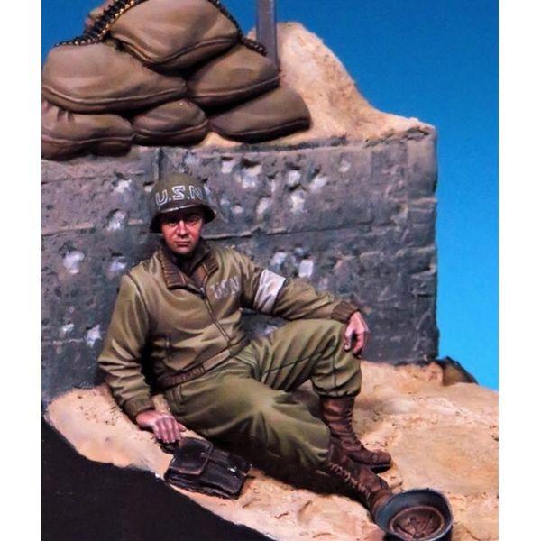 【5月予約】ザ・ボディ 1/35 WW.II 米海軍 衛生兵 「ノルマンディー 1944年」 スケールモデル TBO35176