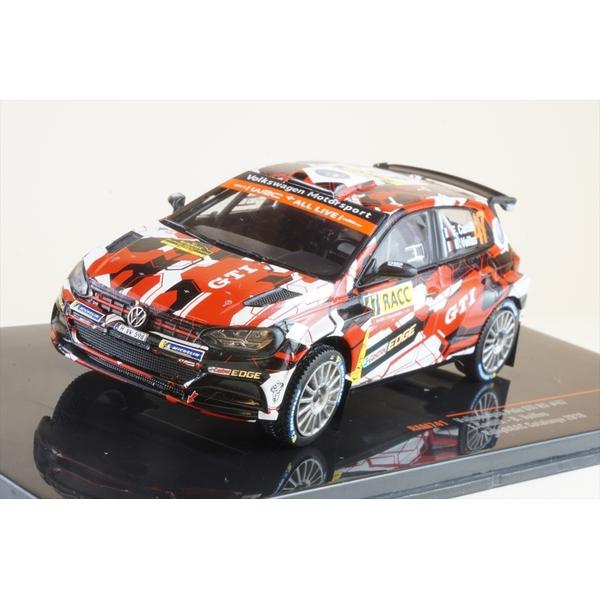 イクソ 1/43 フォルクスワーゲン ポロ GTI R5 No.47 2018 WRC ラリー・カタルーニャ E.カミリ/B.ベイラス 完成品ミニカー RAM741