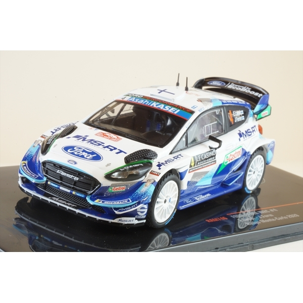 イクソ 1/43 フォード フィエスタ WRC No.4 2020 ラリー・モンテカルロ E.ラッピ/J.ファーン 完成品ミニカー RAM746