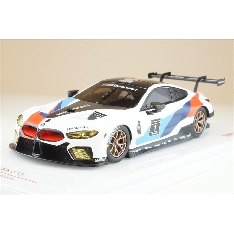 トゥルースケール 1/43 BMW M8 GTE 2018 プレゼンテーション 完成品ミニカー TSM430429