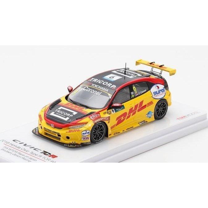トゥルースケール 1/43 ホンダ シビック Type-R TCR No.9 Boutsen Ginion レーシング WTCR 第9戦 レースオブジャパン 完成品ミニカー TSM430443