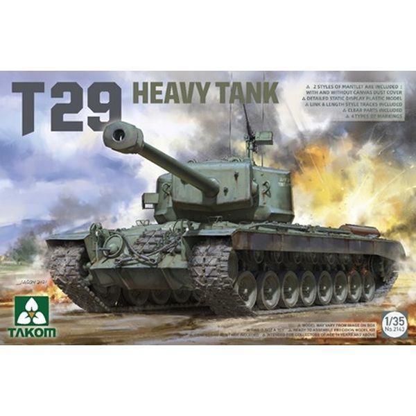 【6月予約】タコム 1/35 T29 重戦車 スケールモデル TKO2143