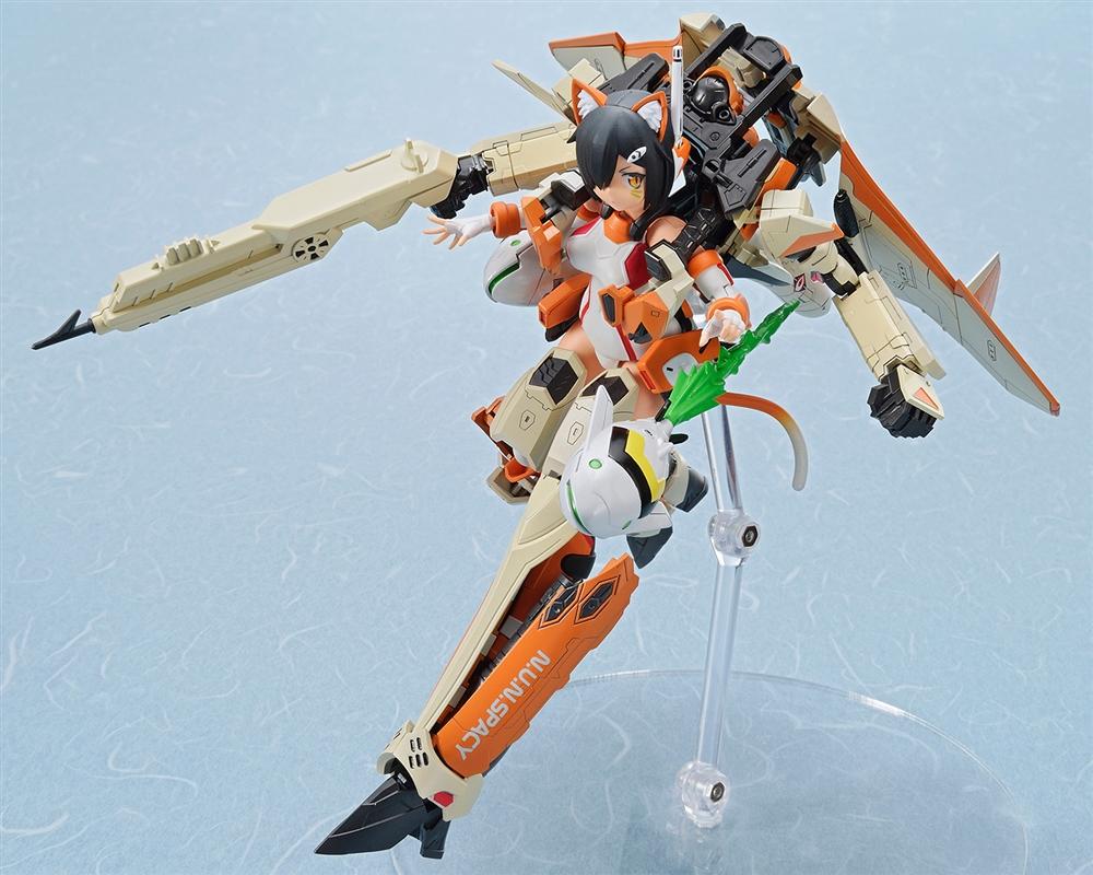 【4月予約】アオシマ ACKS V.F.G. VF-31D スクルドSP 「マクロスΔ」より キャラクタープラモデル MC-08
