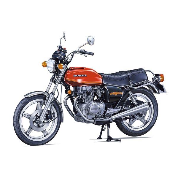【7月予約】アオシマ 1/12 ザ☆バイク No.35 ホンダ CB400T HAWK-II '78 スケールモデル 4905083063040