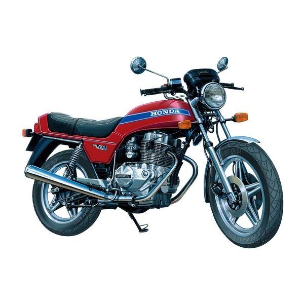 【7月予約】アオシマ 1/12 ザ☆バイク No.36 ホンダ CB400N HAWK-III '78 スケールモデル 4905083063057