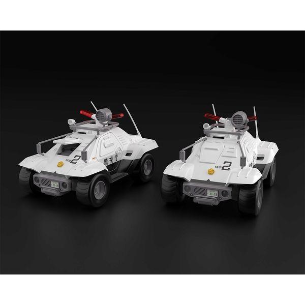 【10月予約】アオシマ 1/43 ACKS No.MP-02 98式特型指揮車 2台セット 「機動警察パトレイバー」より キャラクタープラモデル 4905083063064