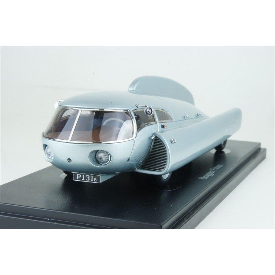 オートカルト 1/43 ベルグレン フィーチャー 1951 メタリックシルバー 完成品ミニカー 09009