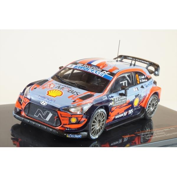 イクソ 1/43 ヒュンダイ i20 クーペ WRC No.9 2020 ラリー・モンテカルロ S.ローブ/D.エレナ 完成品ミニカー RAM744