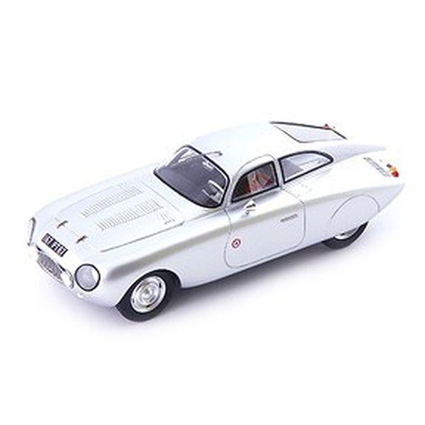 【8月予約】オートカルト 1/43 プジョー 203 ダルマット DS 1953 メタリックシルバー 完成品ミニカー 04031