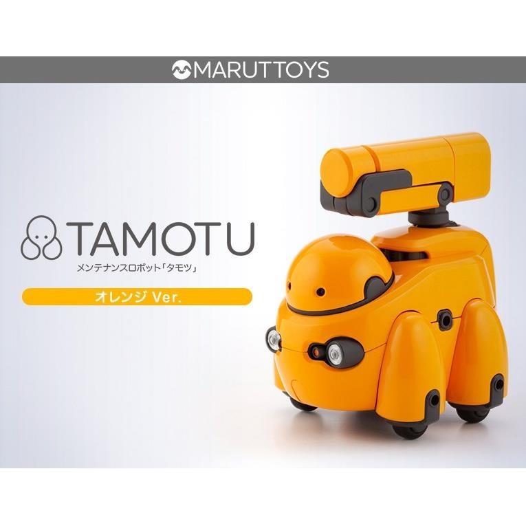 【5月予約】コトブキヤ 1/12 TAMOTU オレンジVer. 「MARUTTOYS」より キャラクタープラモデル KP572
