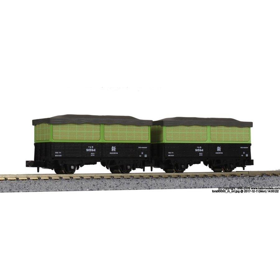 KATO Nゲージ トラ90000 空荷用金網パーツセット(10両入) 鉄道模型パーツ 11-562
