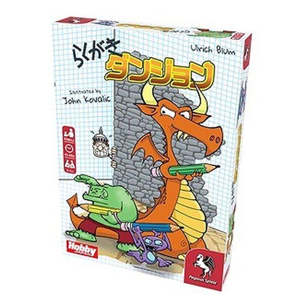 ホビージャパン らくがきダンジョン 日本語版 アナログゲーム 4981932025872