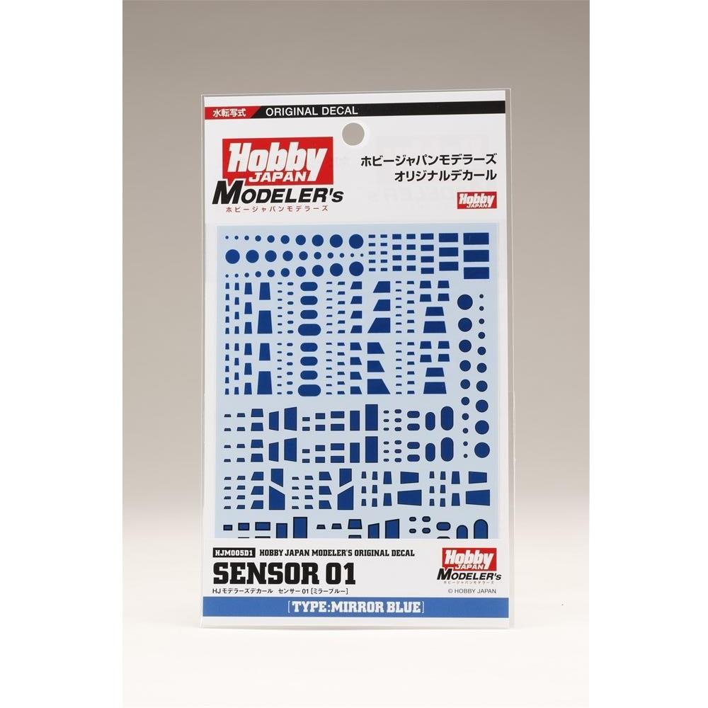 【送料無料】ホビージャパン HJモデラーズデカール センサー01[ミラーブルー] HJM005D1 【同梱種別A】