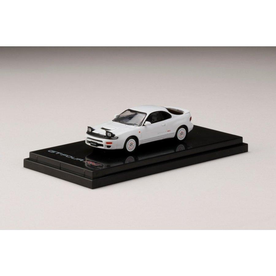 ホビージャパン 1/64 トヨタセリカ GT-FOUR RC ST185 カスタムバージョン/ディッシュホイール スーパーホワイトII 完成品ミニカー HJ641023CW