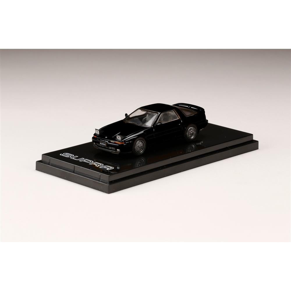 【5月予約】ホビージャパン 1/64 トヨタ スープラ A70 2.5GT ツインターボ カスタムバージョン ブラック 完成品ミニカー HJ641026CBK
