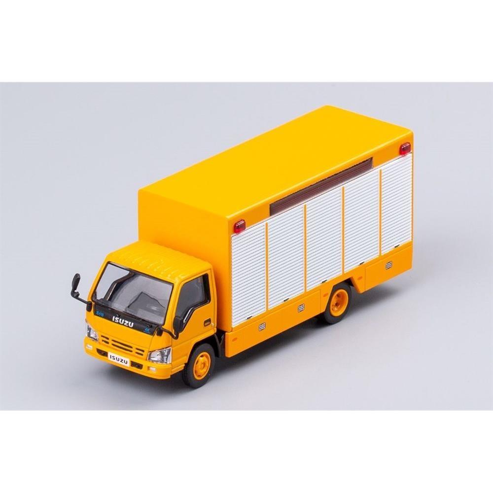 【3月予約】ゲインコーププロダクツ 1/64 いすゞ N シリーズ トラック イエロー 左ハンドル仕様 完成品ミニカー KS002-12