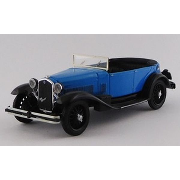 【5月予約】リオ 1/43 アルファロメオ 1750 トーピード 1930 ブルー/ブラック 完成品ミニカー RIO4648