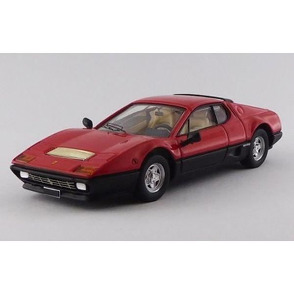 ベストモデル 1/43 フェラーリ 512 BB 1976 レッド/ブラック 完成品ミニカー BEST9802