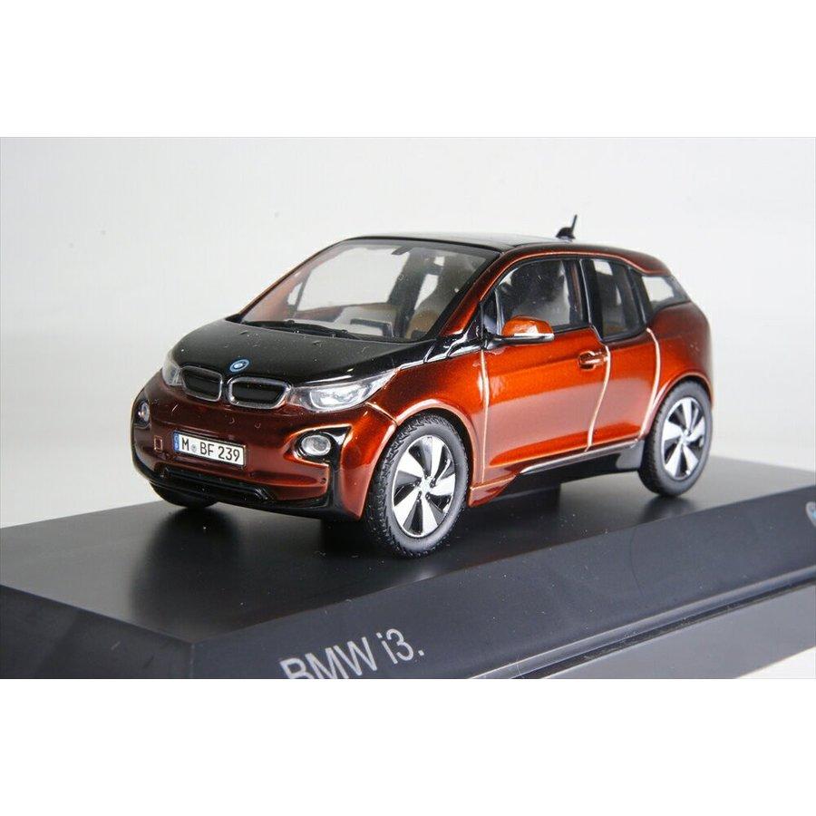ディーラー特注 1/43 BMW i3(i01) オレンジ 完成品ミニカー 80422320105
