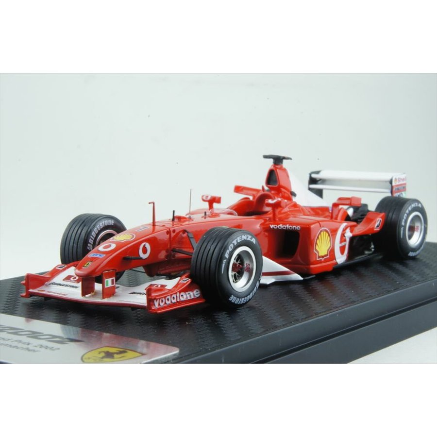 BBR 1/43 フェラーリ F2002 2002 F1 フランスGP M.シューマッハ 完成品ミニカー BBRCS002
