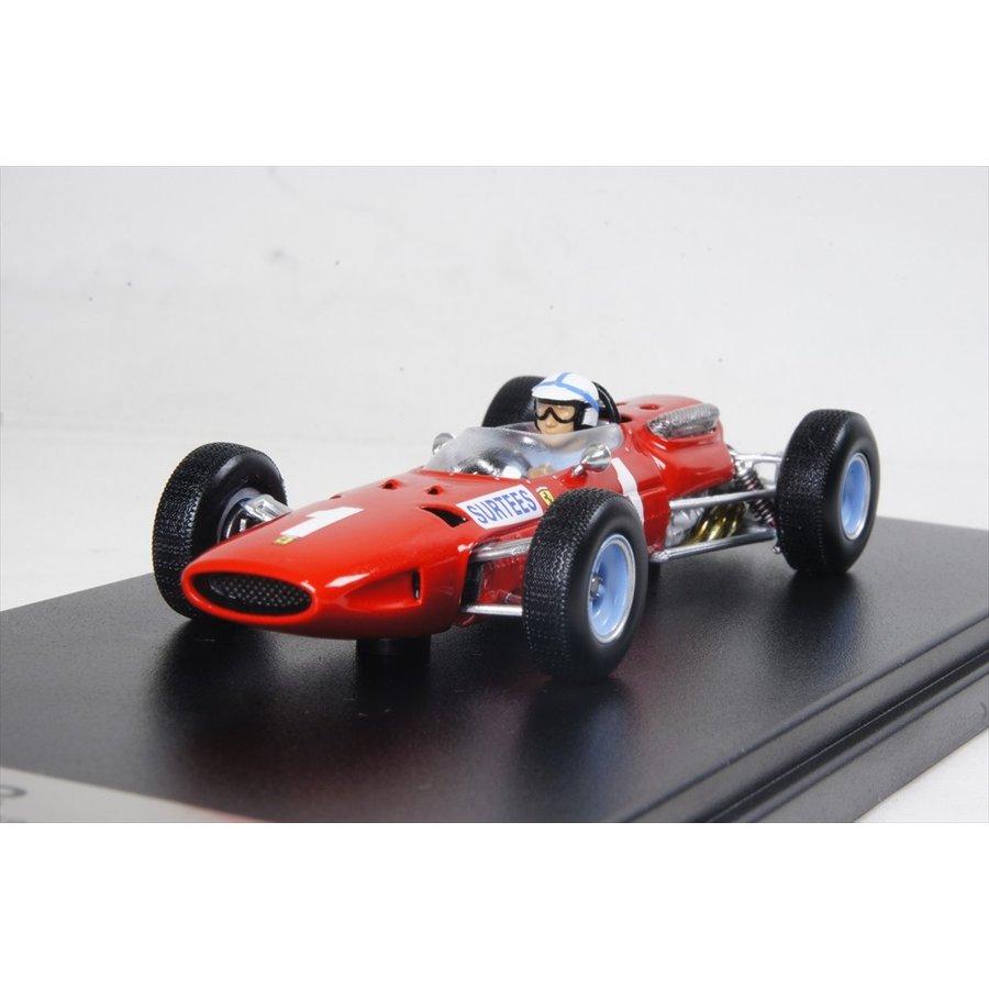 ルックスマート フェラーリ 1512 No.1 3rd 1965 F1 イギリスGP J.サーティス 1/43 完成品ミニカー LSRC13
