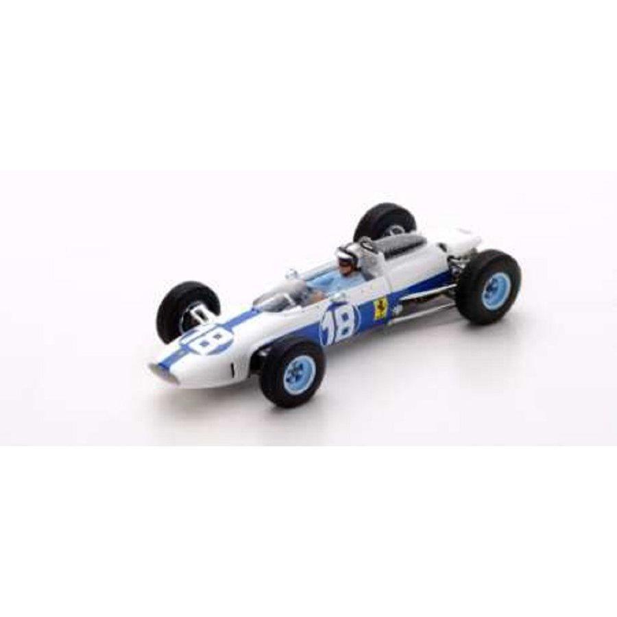 ルックスマート 1/43 フェラーリ 156 No.18 1964 F1 メキシコGP 6位 P.ロドリゲス 完成品ミニカー LSRC09