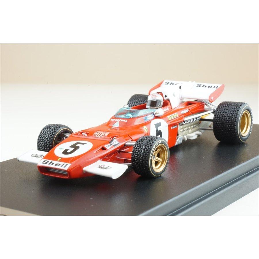 ルックスマート 1/43 フェラーリ312 B2 No.5 1971 F1 ドイツGP 4位 アンドレッティ 完成品ミニカー LSRC028